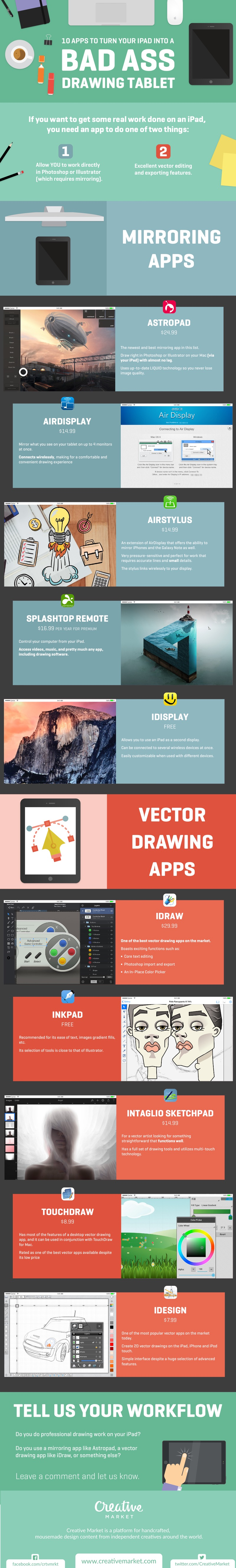 Apps That Allow Effective Drawings On iPads - Infographic
