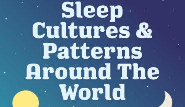 How People Around The World Sleep - Infographic
