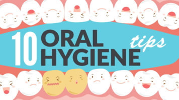 Life Hacks - Maintaining Oral Hygiene - Infographic