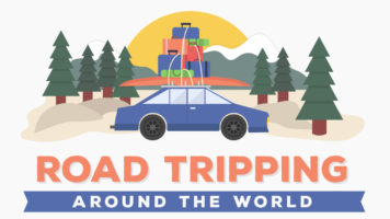 Road Tripping Across The Globe - Infographic