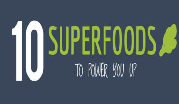 These Foods Will Keep You Powered Up - Infographic