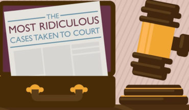 You Won't Believe These Cases Taken To Court! - Infographic