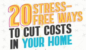Easy Ways To Save Money At Home - Infographic