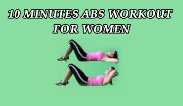 10 Minutes Abs Workout for Women - Infographic