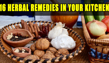 16 Herbal Remedies in Your Kitchen