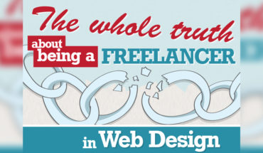 The Whole Truth About Being a Freelancer in Web Design- Infographic
