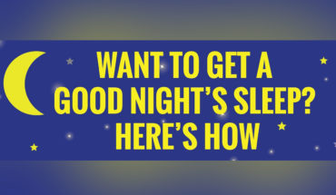 Want To Get a Good Night's Sleep? - Infographic