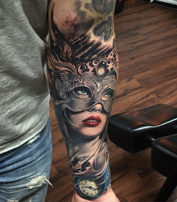 40 People Who Decided To Get A Sleeve Tattoo And Nailed It!_003