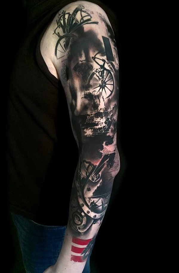 40 People Who Decided To Get A Sleeve Tattoo And Nailed It!_010