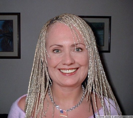 Hilarious Ways Hillary Clinton Was Photoshopped (1)