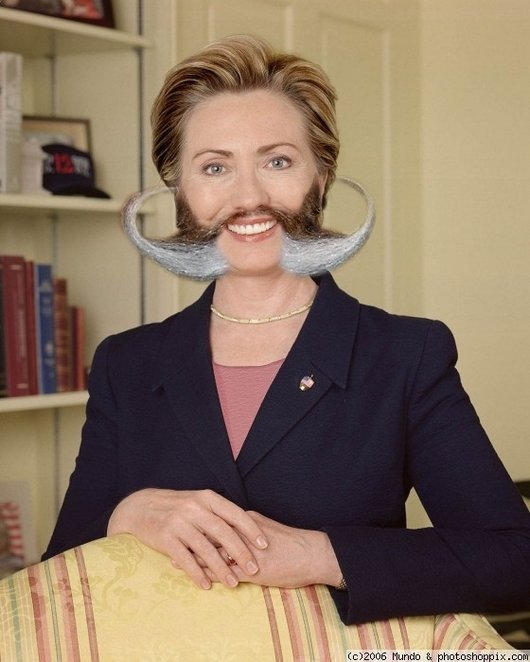 Hilarious Ways Hillary Clinton Was Photoshopped (10)