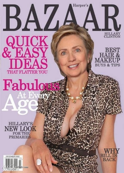 Hilarious Ways Hillary Clinton Was Photoshopped (11)
