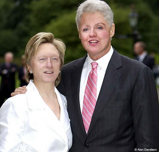 Hilarious Ways Hillary Clinton Was Photoshopped (23)
