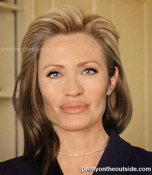 Hilarious Ways Hillary Clinton Was Photoshopped (4)