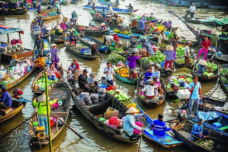 Images Of Markets On Boats In Southeast Asia (13)