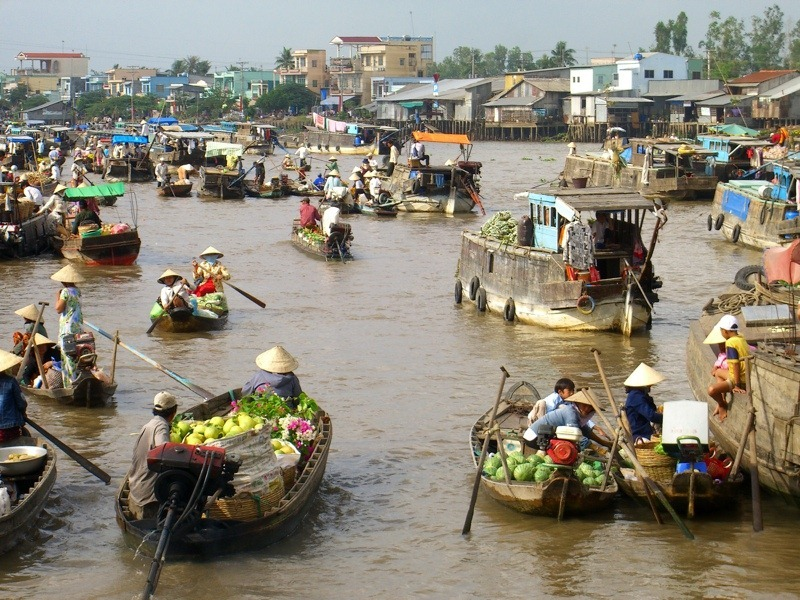 Images Of Markets On Boats In Southeast Asia (14)