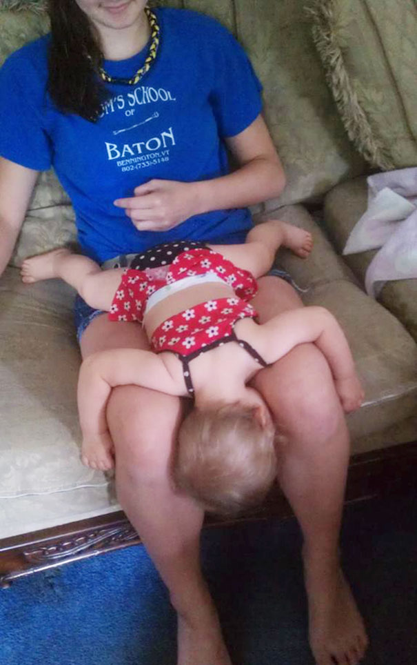 Kids Who Mastered The Art Of Sleeping ANYWHERE (12)