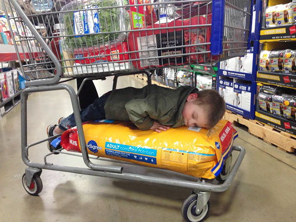 Kids Who Mastered The Art Of Sleeping ANYWHERE (15)