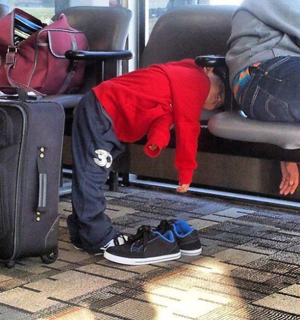 Kids Who Mastered The Art Of Sleeping ANYWHERE (2)
