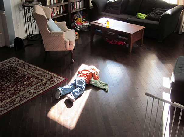 Kids Who Mastered The Art Of Sleeping ANYWHERE (5)