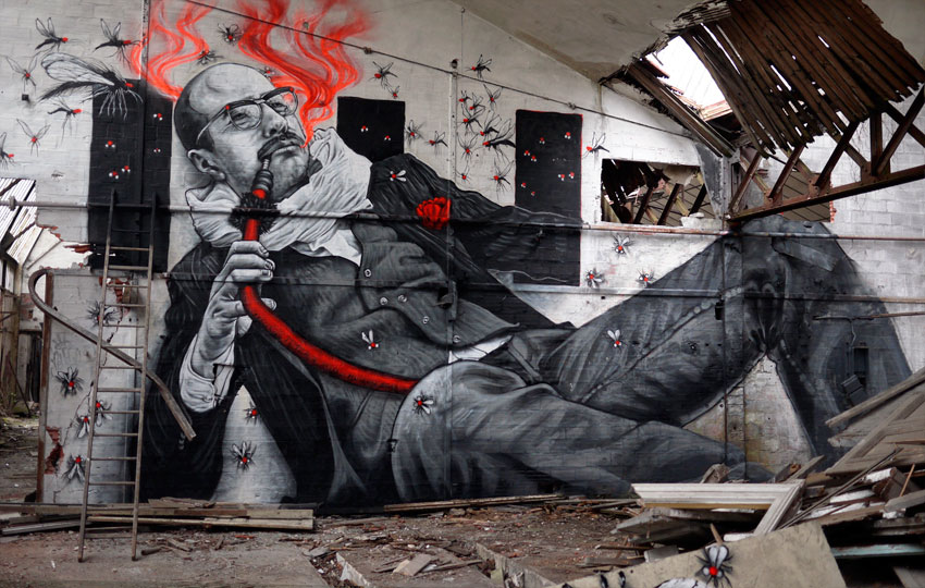 Of The Craziest Street Wall Artwork From Around The World_001