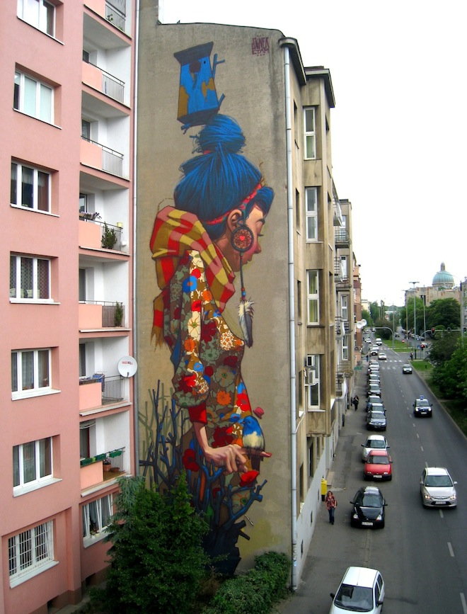 Of The Craziest Street Wall Artwork From Around The World_002