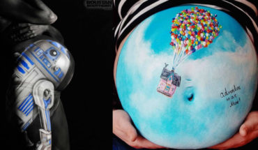 12 Pictures Of Pregnant Bellies Being Used As A Canvas