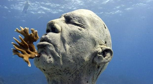 This Underwater Museum In Mexico  (2)