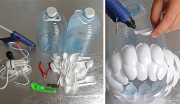 DIY: 10 Ways You Can Use Plastic Spoons To Make Something Creative