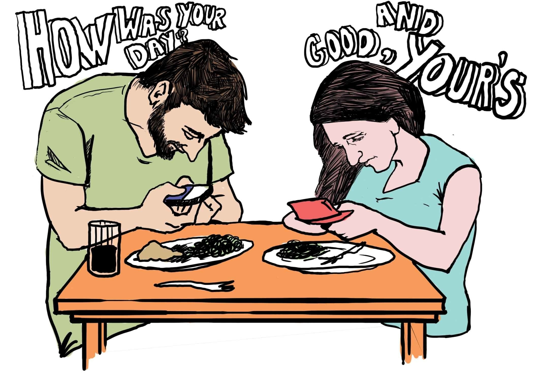 These Pictures Sum Up The Smartphone Addiction (5)