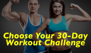 Choose Your 30-Day Workout Challenge - 20 Infographics