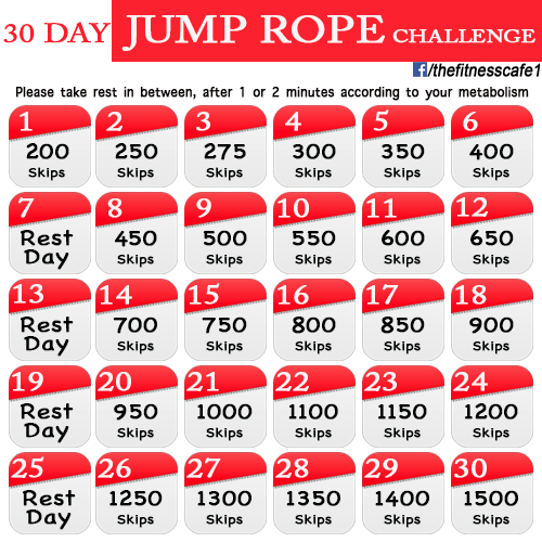 Choose Your 30-Day Workout Challenge