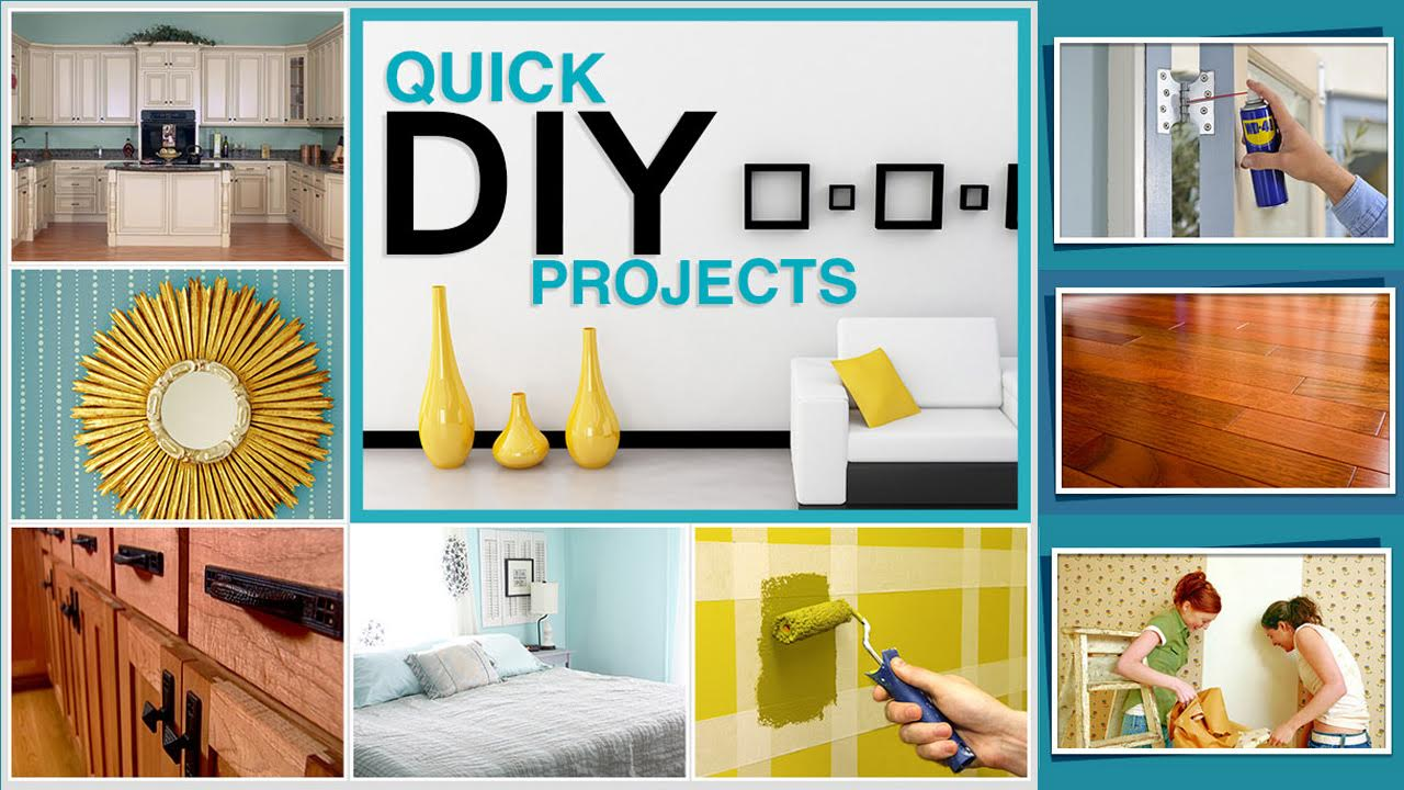 Easy ways to make home improvements 10 quick diy projects for Simple home improvement ideas