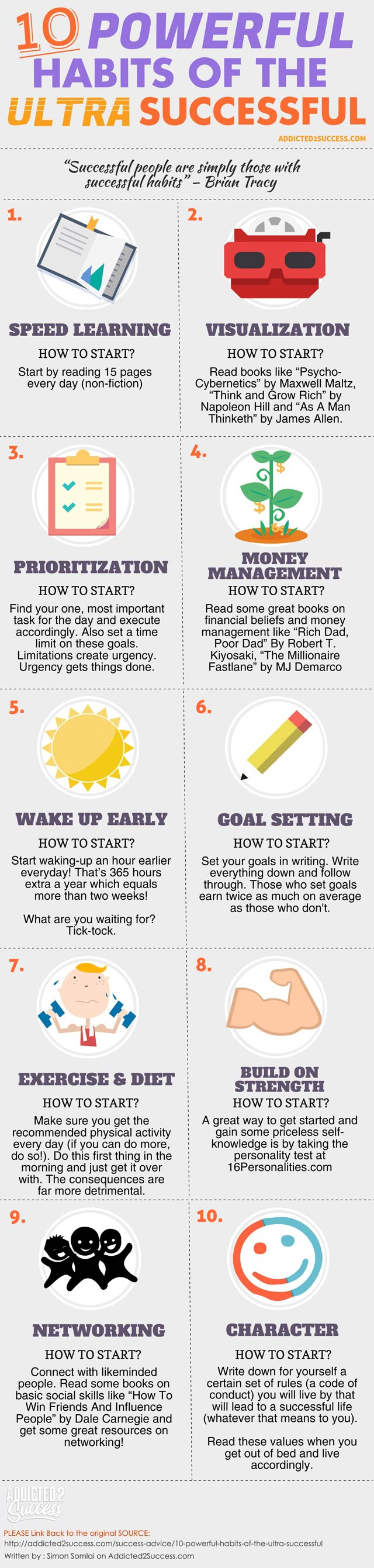 10 Things Successful People Do Differently
