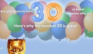 Are You Turning 30? Here's Why It's A Great Number