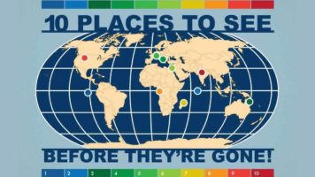 10 Places That Have Less Than 100 Years To Live - Infographic