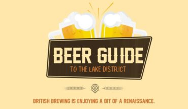 Beers & Food: The Best Of Lake District - Infographic