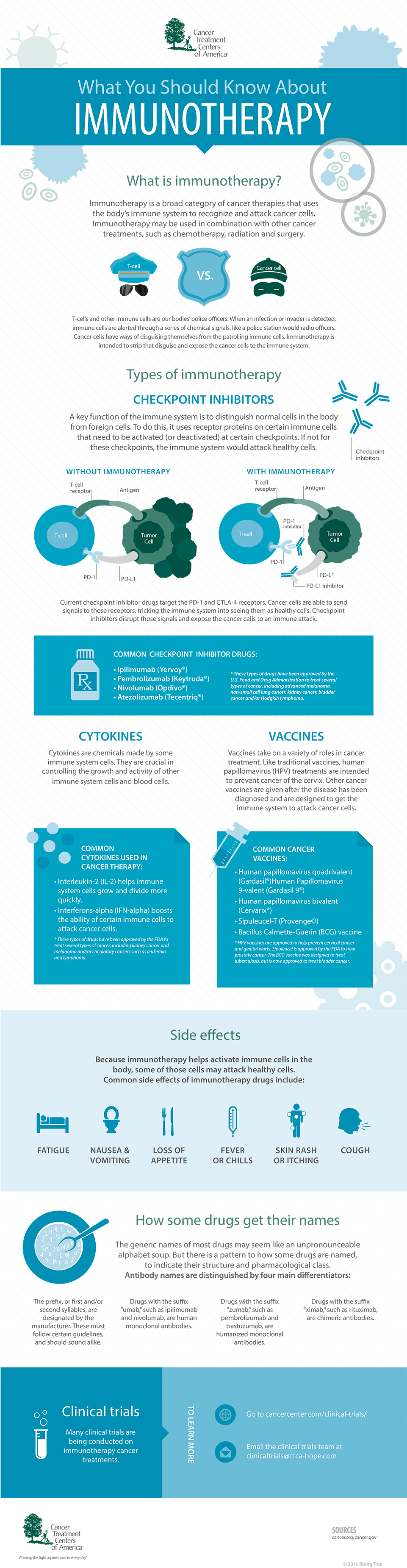 Everything You Need To Know About Immunotherapy - Infographic