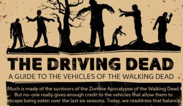 Know More About The Vehicles In The Walking Dead - Infographic