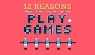 Why Playing Games At Work Is Actually A Good Thing - Infographic