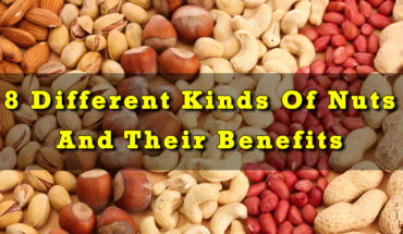 8 Different Kinds Of Nuts And Their Benefits - Infographic