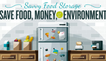 A Guide To Storing Your Food Perfectly - Infographic