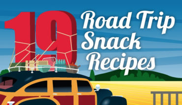 Never Go Hungry On Road Trips - Snack Recipes - Infographic