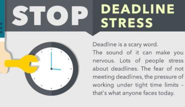 10 Ways To Kill Deadline Stress - Infographic