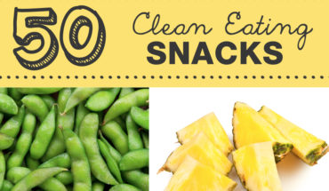 50 Healthy and Tasty Snacks - Infographic
