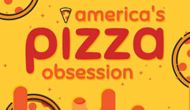 America Is Obsessed With Pizza! - Infographic