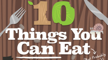 Did You Know You Can Eat These? - Infographic