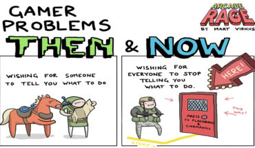 12 Problems Faced By Gamers (Then vs Now) - Infographic