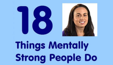 18 Principles Followed By People Who Are Mentally Strong - Infographic