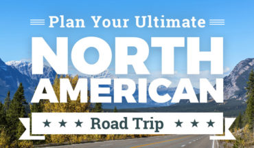 A Guide To The Ultimate North American Road Trip - Infographic